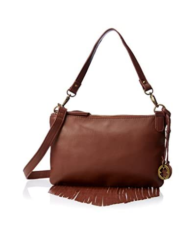 Lucky Brand Women's Bailey Convertible Cross-Body, Brandy