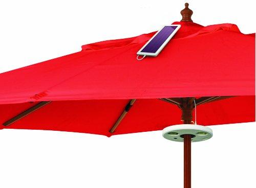 98335 solar sonnenschirm beleuchtung ean 4039038983357. Black Bedroom Furniture Sets. Home Design Ideas