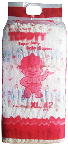 Teddyy Super Baby Extra Large Size Diaper (42 Count)