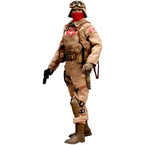 G.I.죠 12 Inch Action Figure: Desert Ops Trooper Officer- (2011-12-09)