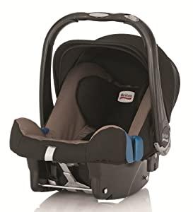 Britax Baby-Safe Plus SHR II Group 0+ Baby Car Seat (Fossil Brown)