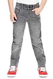 Cotton Rich Adjustable Waist Studded Skinny Jeans [T88-5955F-Z]