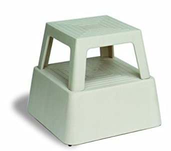 Continental 523TN, Tan Plastic Step Stool (Case of 1)