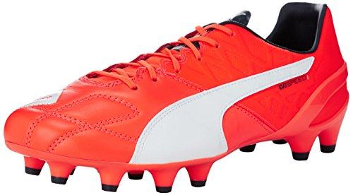 puma-evospeed-14-lth-fg-botas-de-futbol-para-hombre-arancione-orange-lava-blast-white-total-eclipse-
