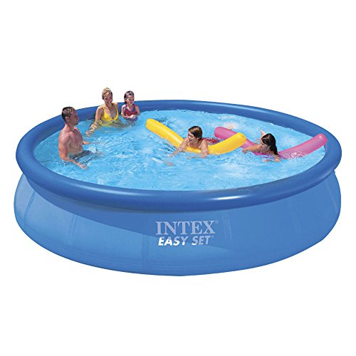 intex 15ft x 36in easy set pool set the lawn garden. Black Bedroom Furniture Sets. Home Design Ideas