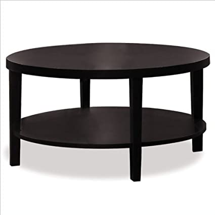 Merge 36 Inch Round Coffee Table by Avenue Six