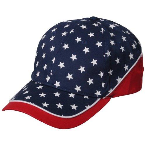 Flag Cap - Red Navy Stars
