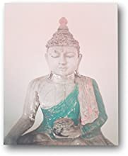 HOLIDAY SALE  Pink Buddha 18x24 Wall Art Print Zen Nursery Children39s Room Decor Gender Neutral Nur