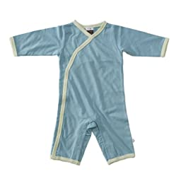 Baby Soy All-Natural Kimono Onepiece Size: 3-6 Months Color: Ocean
