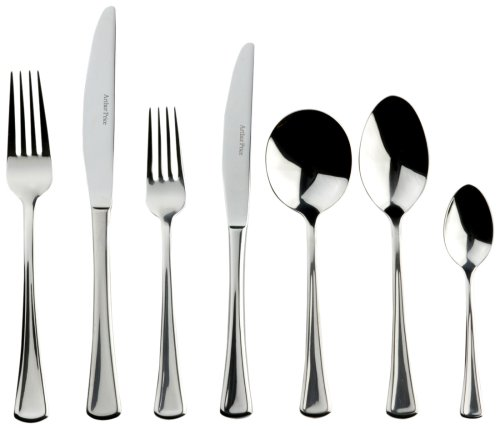 Arthur Price Contemporary 44-piece Apollo cutlery set for 6 people in a fashionable gift box