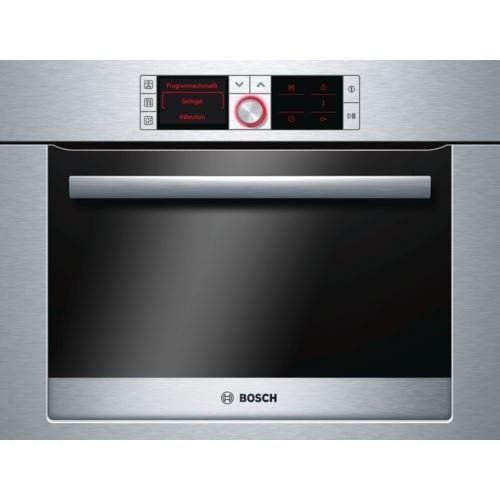 Bosch HBC36D754B compact built-in/under oven Built-in Steam Oven in Stainless steel - J 1737243