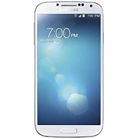 Samsung Galaxy S4, White Frost 16GB (Verizon Wireless)