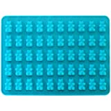 50 Cavity Silicone Bear & Chocolate Mold - Make Healthy Sugar Free Candies & Gummy's At Home - 1 Pack.