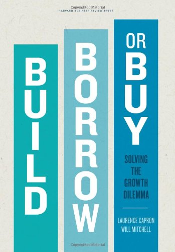 Build, Borrow, or Buy: Solving the Growth Dilemma