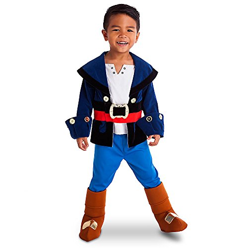 [Disney Store Captain Jake & the Neverland Pirates Boys Costume] (Jake And The Pirate Costumes)