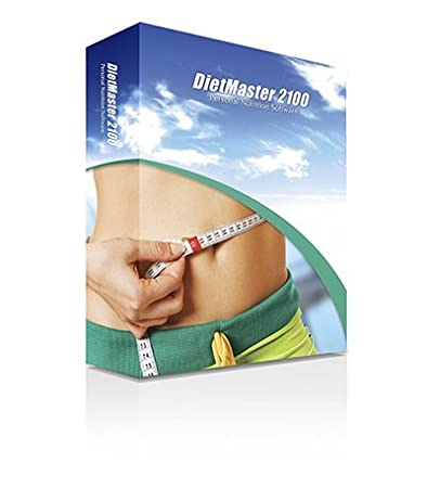 DietMaster 2100 Nutrition Software - Personal Edition Diet Software - Mac OS, Awarded 2011 Best Diet Software - Top Ten Reviews