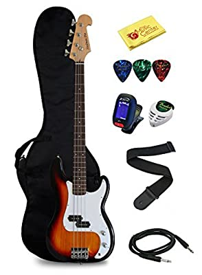 Crescent Electric Bass Guitar Starter Kit