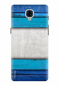 Noise Designer Printed Case / Cover for OnePlus 3 / Patterns & Ethnic / Blue Ombre Design