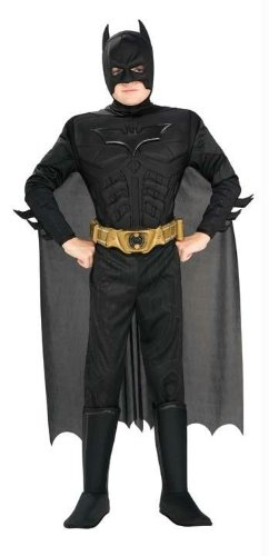 Costumes For All Occasions Ru883104Md Batman Deluxe Child Medium