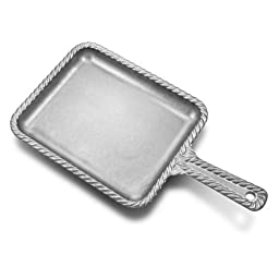 Wilton Armetale Gourmet Grill Ware Rectangular Skillet, Silver