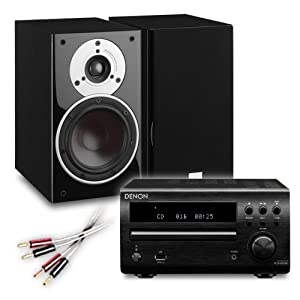 Review and Buying Guide of Cheap Creative Audio CA-MS40-BB Micro Stereo System (Denon DM39DAB Black + DALI ZENSOR 1 Black + £55 QED cable bundle). 2 Year Guarantee + Free next working day delivery (most mainland UK addresses)!