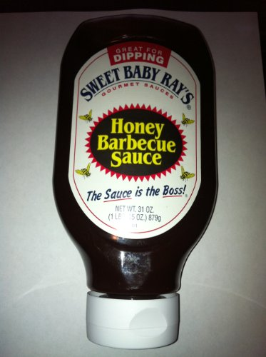 Sweet Baby Ray'S Honey Barbecue Sauce, Squeeze Bottle 31 Oz (1Lbs. 15 Oz)