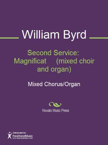 Second Service:  Magnificat     (mixed choir and organ) Sheet Music