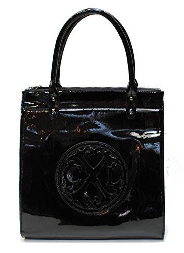 christian-lacroix-bolso-de-tela-para-mujer-negro-negro-l30xh35xe105cm
