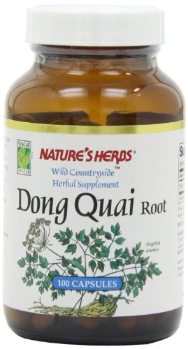Twinlab Nature's Herbs Dong Quai Root 530mg,