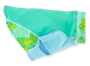 PlayaPup Sun Protective/Lightweight Dog Shirts, Tropical Green, 5XL