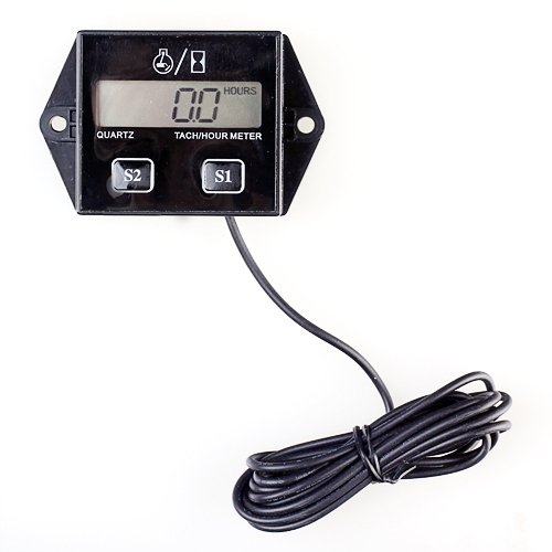 Honda Atv Hour Meter : Feelglad tm digital hour meter tachometer stroke