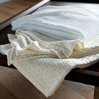 Organic Cotton Blanket, Queen - The Company Store