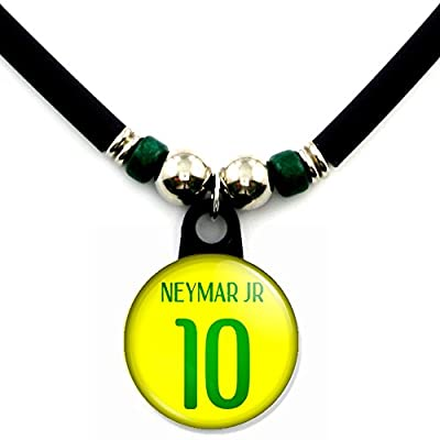 Neymar Jr. Brazil Soccer Jersey Necklace