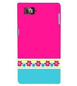 Classic Pink Color Design 3D Hard Polycarbonate Designer Back Case Cover for Lenovo Vibe Z2 Pro K920