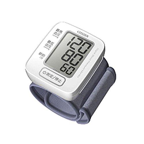 かんたん操作のワンボタン測定 シチズン電子血圧計 手首式 CHW301