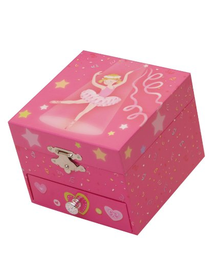 Musicboxworld Jewellery Box Ballerina Playing