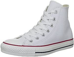Converse Unisex Chuck Taylor Classic Hi Sneaker - White - Mens - 9.5