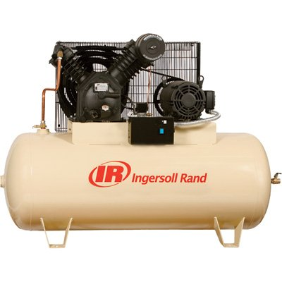Ingersoll Rand Electric Stationary Air Compressor 10 Hp, 35 Cfm At 175 Ps...