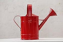 Green Gardenia Watering Cane Red-(2 LITERS OF WATER CAPACITY)
