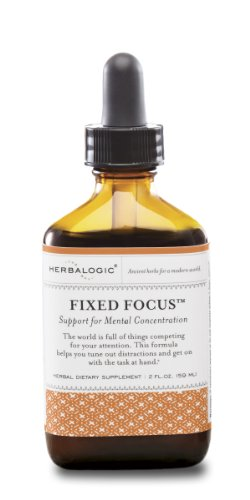 Herbalogic Fixed Focus - Herbal Support For Attention And Clarity (2 Oz.)