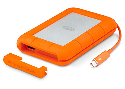 LaCie 2TB Rugged Thunderbolt External Hard Drive (USB 3.0)