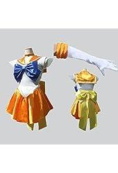 Sailor moon cosplay Sailor Venus Aino Minako Cosplay Costume Customized Any Size