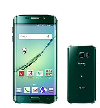 docomo  Galaxy S6 edge SC-04G グリーンエメラルド 白ロム