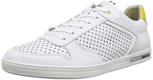 Pantofola d'OroEBICE - Scarpe da Ginnastica Basse Uomo , Bianco (Weiß (Bright White)), 41