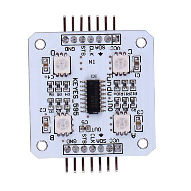 Zcl Spi Rgb 4 Smd 5050 Led Light Module For Arduino ¨C White