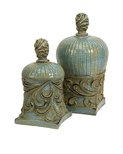 Set of 2 Rios Lidded Boxes