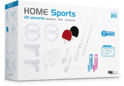 Nintendo Wii - Bigben Home Sports Mega Pack (20