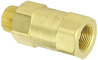 Dixon Brass Safety Check Valve, NPT Male x NPT Female