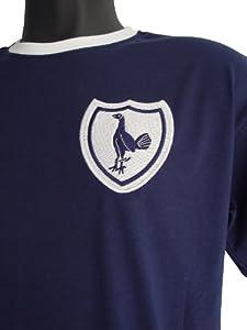 Old school football tottenham hotspur 1960s retro football for Old school basketball t shirts
