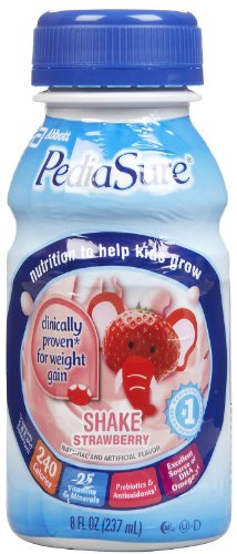 Pediasure Strawberry Shake Nutritional Drink 6 Pk (Pack Of 4)